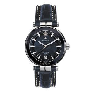 1666/BLA45 MICHEL HERBELIN [ミッシェル・エルブラン]  ニューポートヨットクラブ メンズ腕時計 国内正規品 送料無料|quelleheure-1