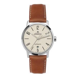 1669/07GO   MICHEL HERBELIN [ミッシェル・エルブラン]  シティ メンズ腕時計 国内正規品 送料無料|quelleheure-1