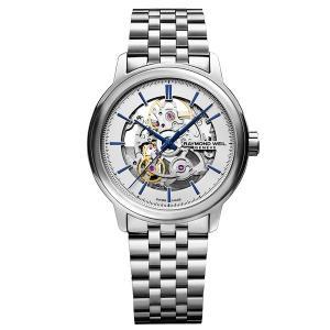 RAYMOND WEIL レイモンド・ウェイル マエストロ 自動巻き メンズ腕時計 ステンレススチール 2215-ST-65001  |quelleheure-1