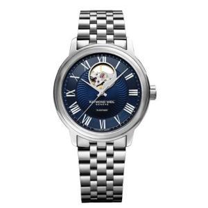 RAYMOND WEIL レイモンド・ウェイル マエストロ オープンハート 自動巻き メンズ腕時計 ステンレススチール 2227-ST-00508  |quelleheure-1