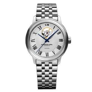 RAYMOND WEIL レイモンド・ウェイル マエストロ オープンハート 自動巻き メンズ腕時計 ステンレススチール 2227-ST-00659  |quelleheure-1