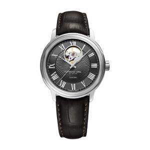 RAYMOND WEIL レイモンド・ウェイル マエストロ 自動巻き メンズ腕時計 カーフ(クロコ型押し)ストラップ 2227-STC-00609  |quelleheure-1