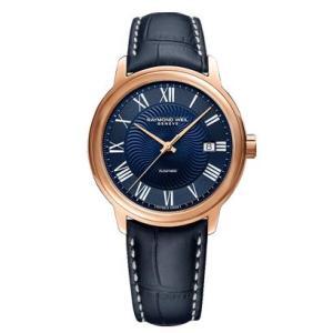RAYMOND WEIL レイモンド・ウェイル マエストロ デイデイト 自動巻き メンズ腕時計 クロコ型押しカーフ 2237-PC5-00508  |quelleheure-1