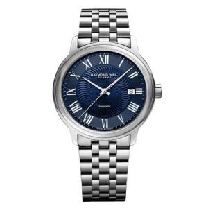 RAYMOND WEIL レイモンド・ウェイル マエストロ デイデイト 自動巻き メンズ腕時計 ステンレススチール 2237-ST-00508  |quelleheure-1
