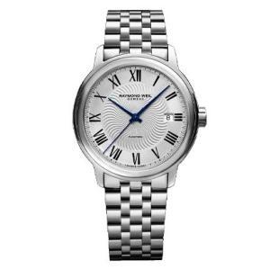 RAYMOND WEIL レイモンド・ウェイル マエストロ デイデイト 自動巻き メンズ腕時計 ステンレススチール 2237-ST-00659  |quelleheure-1