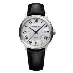 RAYMOND WEIL レイモンド・ウェイル マエストロ デイデイト 自動巻き メンズ腕時計 クロコ型押しカーフ 2237-STC-00659  |quelleheure-1