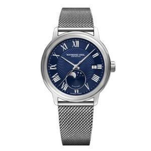 RAYMOND WEIL レイモンド・ウェイル マエストロ ムーンフェイズ 自動巻き メンズ腕時計 ステンレススチール 2239M-ST-00509  |quelleheure-1