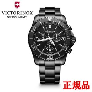 正規品 VICTORINOX ビクトリノックス Maverick Black Edition メンズ腕時計 クォーツ 送料無料 241797|quelleheure-1