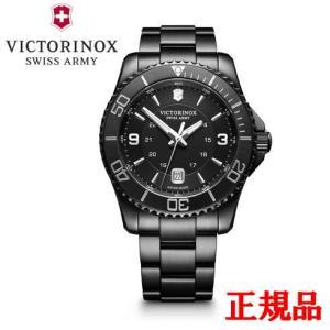 正規品 VICTORINOX ビクトリノックス Maverick Black Edition メンズ腕時計 クォーツ 送料無料 241798|quelleheure-1