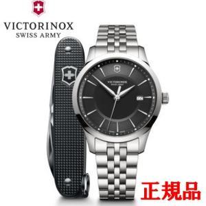 正規品 VICTORINOX ビクトリノックス Alliance(マルチツール付き) メンズ腕時計 クォーツ 送料無料 241801.1|quelleheure-1
