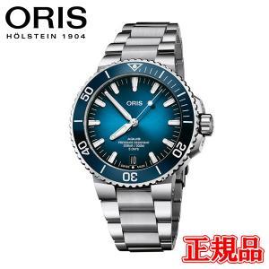 【予約販売】 正規品 ORIS オリス アクイスデイト キャリバー400 メンズ腕時計 01 400 7763 4135-07 8 24 09PEB|quelleheure-1