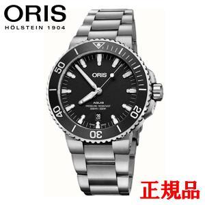 正規品 ORIS オリス アクイス デイト メンズ腕時計 01 733 7730 4124-07 8 24 05EB|quelleheure-1