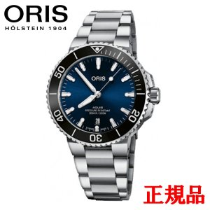 正規品 ORIS オリス アクイス デイト メンズ腕時計 01 733 7766 4135-07 8 22 05PEB|quelleheure-1
