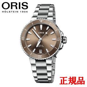 正規品 ORIS オリス アクイス デイト メンズ腕時計 01 733 7731 4156-8 18 05P|quelleheure-1