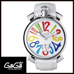 5010.01S GAGA MILANO ガガミラノ  MANUALE 48MM  マニュアーレ 48mm ステンレス メンズ腕時計 国内正規品 送料無料  |quelleheure-1