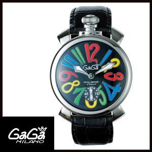 5010.02S GAGA MILANO ガガミラノ  MANUALE 48MM  マニュアーレ 48mm ステンレス メンズ腕時計 国内正規品 送料無料  |quelleheure-1