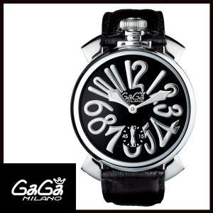 5010.04S GAGA MILANO ガガミラノ  MANUALE 48MM  マニュアーレ 48mm ステンレス メンズ腕時計 国内正規品 送料無料  |quelleheure-1