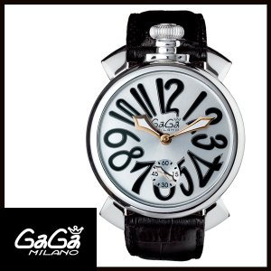 5010.07S GAGA MILANO ガガミラノ  MANUALE 48MM  マニュアーレ 48mm ステンレス メンズ腕時計 国内正規品 送料無料  |quelleheure-1