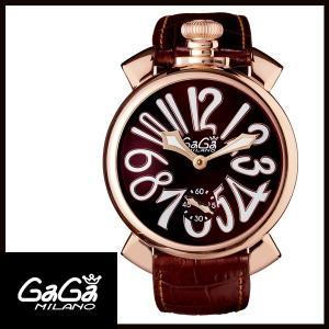 5011.01S GAGA MILANO ガガミラノ  MANUALE 48MM  マニュアーレ 48mm GOLD PLATED メンズ腕時計 国内正規品 送料無料  |quelleheure-1