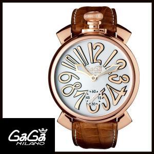 5011.08S GAGA MILANO ガガミラノ  MANUALE 48MM  マニュアーレ 48mm GOLD PLATED メンズ腕時計 国内正規品 送料無料  |quelleheure-1