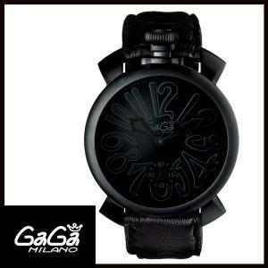 5012.02S GAGA MILANO ガガミラノ  MANUALE 48MM  マニュアーレ 48mm ブラックPVD/カーボン メンズ腕時計 国内正規品 送料無料  |quelleheure-1