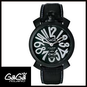 5012.06S GAGA MILANO ガガミラノ  MANUALE 48MM  マニュアーレ 48mm ブラックPVD/カーボン メンズ腕時計 国内正規品 送料無料  |quelleheure-1
