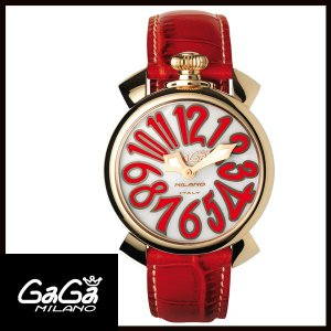 5021.5 GAGA MILANO ガガミラノ MANUALE 40MM GOLD PLATED レディース腕時計 国内正規品 送料無料  |quelleheure-1