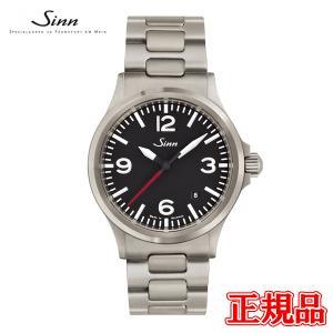 正規品 Sinn ジン Instrument Watches インストゥルメント ウォッチ 自動巻き メンズ腕時計 ステンレススチールストラップ 556.A.RS quelleheure-1