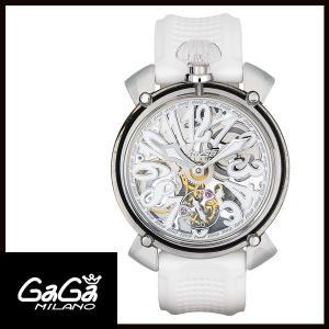 6090.01 GAGA MILANO ガガミラノ  MANUALE 48MM  マニュアーレ 48mm クリスタル メンズ腕時計 国内正規品 送料無料|quelleheure-1