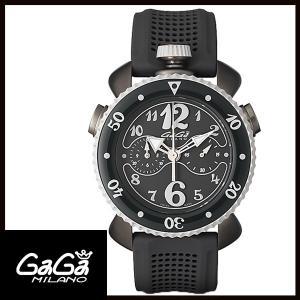 7013.01 GAGA MILANO ガガミラノCHRONO SPORT 45MM グレーPVD メンズ腕時計 国内正規品 送料無料|quelleheure-1