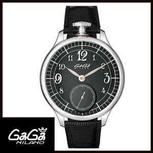 7040.2 GAGA MILANO ガガミラノ SILVER シルバー 限定250本 メンズ腕時計 国内正規品 送料無料|quelleheure-1