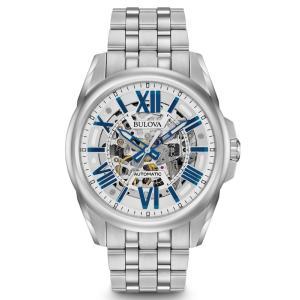 BULOVA ブローバ Automatic メンズ腕時計 96A187  |quelleheure-1