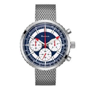 96K101 BULOVA CURV ブローバ   Chronograph C 〔クロノグラフ C 〕 メンズ腕時計 正規品 送料無料  |quelleheure-1