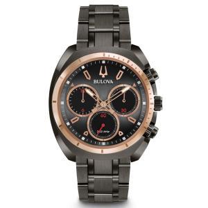 98A158 BULOVA CURV ブローバ  カーブ クロノグラフ メンズ腕時計 正規品 送料無料  |quelleheure-1