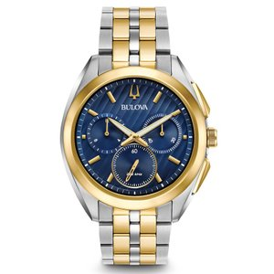 98A159 BULOVA CURV ブローバ  カーブ クロノグラフ メンズ腕時計 正規品 送料無料  |quelleheure-1