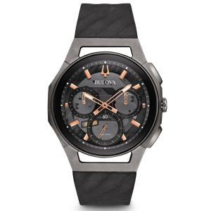 98A162 BULOVA CURV ブローバ  カーブ クロノグラフ メンズ腕時計 正規品 送料無料  |quelleheure-1