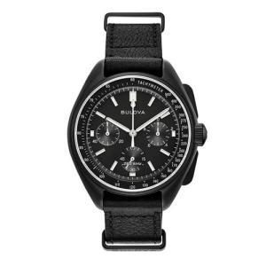 国内正規品 BULOVA ブローバ ムーンウォッチ メンズ腕時計 送料無料 98A186  |quelleheure-1