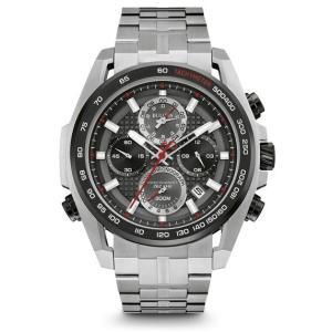 98B270 BULOVA PRECISIONIST ブローバ プレシジョニスト クロノグラフ メンズ腕時計 正規品 送料無料  |quelleheure-1