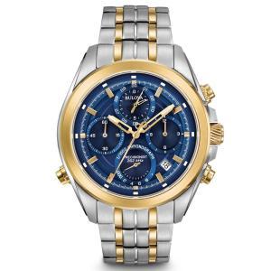 98B276 BULOVA PRECISIONIST ブローバ プレシジョニスト ムーンウォッチ メンズ腕時計 正規品  |quelleheure-1