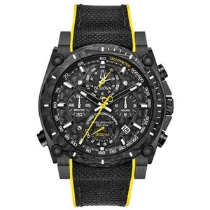 BULOVA ブローバ プレシジョニスト クロノグラフ クォーツ メンズ腕時計 98B312  |quelleheure-1
