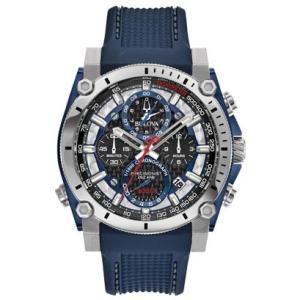 BULOVA ブローバ プレシジョニスト クロノグラフ クォーツ メンズ腕時計 98B315  |quelleheure-1