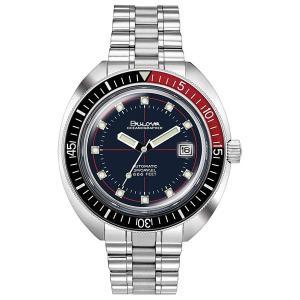 国内正規品 BULOVA ブローバ Devil Diver デビル ダイバー 自動巻き メンズ腕時計 98B320  |quelleheure-1
