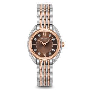 98R230 BULOVA[ブローバ]DIAMONDS [ダイヤモンド] レディース腕時計 国内正規品  送料無料  |quelleheure-1