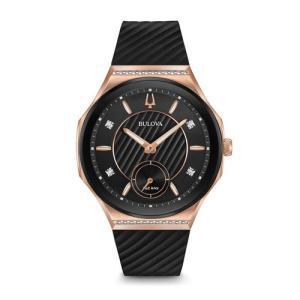 国内正規品 BULOVA ブローバ カーブ レディース腕時計 98R239  |quelleheure-1