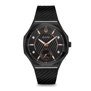 国内正規品 BULOVA ブローバ カーブ レディース腕時計 98R240  |quelleheure-1