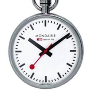 A660.30316.11SBB MONDAINE (モンディーン) Pokect Watch  ( ポケット ウォッチ) 国内正規品 送料無料  |quelleheure-1