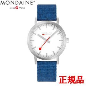 正規品 MONDAINE モンディーン クォーツ クラシック シーズナル 40mm ブルー メンズ腕時計 送料無料 A6603036017SBD|quelleheure-1