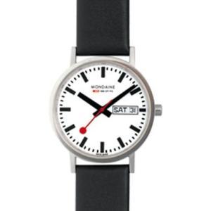 A667.30314.11SBB MONDAINE (モンディーン) New Classic メンズ腕時計 国内正規品 送料無料  |quelleheure-1