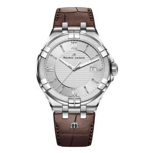 正規品 MAURICE LACROIX モーリスラクロア アイコン デイト 42mm クォーツ メンズ腕時計 AI1008-SS001-130-1|quelleheure-1