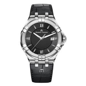 正規品 MAURICE LACROIX モーリスラクロア アイコン デイト 42mm クォーツ メンズ腕時計 AI1008-SS001-330-1|quelleheure-1